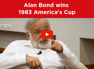 Dr. Ichak Adizes talks about how he helped Alan Bond win the 1983 America's Cup