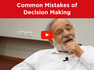 common mistakes of decision making