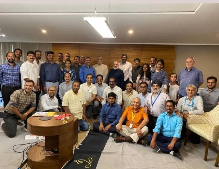 CEO Club India members join Dr. Ichak Adizes at the Heartfulness World HQ